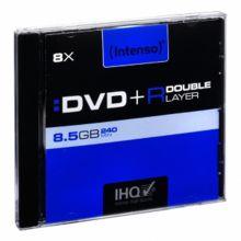 INTENSO DVD+R im Jewel Case 8,5 GB 8-fach Double Layer