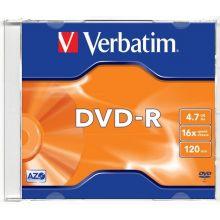 VERBATIM DVD-R im Jewel Case 4,7 GB 16-fach