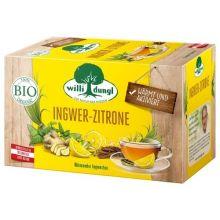 WILLI DUNGL Ingwer-Zitrone-Tee Bio 20 Beutel