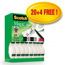 SCOTCH Klebefilm Magic 810 24 Rollen 19mm x 33m transparent