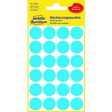 AVERY ZWECKFORM Markierungspunkte 3005 96 Stück permanent Ø 18 mm blau