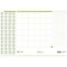 URSUS GREEN Schreibunterlage 30 Blatt mit Kalender