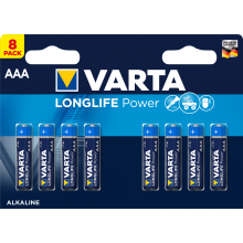 VARTA Batterien Longlife Power AAA LR03 8 Stück 1,5 Volt