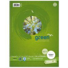 URSUS GREEN Collegeblock A4 80 Blatt liniert