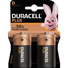 DURACELL Batterie Plus Duralock D MN1300 2 Stück