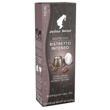 JULIUS MEINL Kaffee Kapseln Inspresso Ristretto Intenso 10 Stück