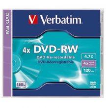 VERBATIM DVD-RW im Jewel Case  4,7 GB 4-fach
