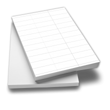 Etikettenpapier A4 zum Bedrucken Aufkleber im Format 105 x 42,30 mm
