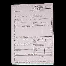 CMR-Internationaler Frachtbrief-Garnitur selbstdurchschreibend