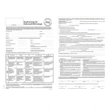 Kaufvertrag für Gebrauchtwagen A3 quer