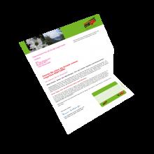 Kuvertmailing mit Kundenkarte