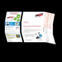 Kuvertmailing mit Brief, SEPA-Zahlschein und Folder