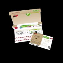 Pop-Up-Gutscheinmailer mit eingesteckter Karte