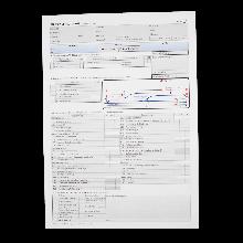 Prüfungsprotokoll für die Fahrprüfung Klasse E gemäß FSG § 11 Abs. 7