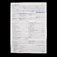 Prüfungsprotokoll für die Fahrprüfung Klasse D95 gemäß FSG § 11 Abs. 7
