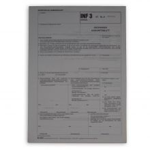 INF3 Rückwaren Auskunftsblatt
