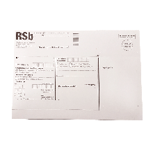 RSb-Etikett RECO maschinenfähig