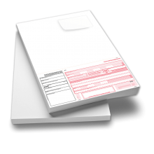 SEPA-Zahlungsanweisung A4 hoch mit Adressetikett
