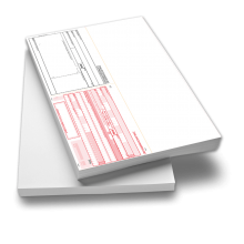 SEPA-Zahlungsanweisung A4 quer mit Allonge oben