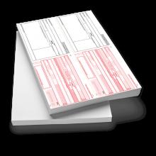 SEPA-Doppel-Zahlungsanweisung A4