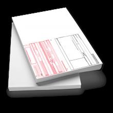 SEPA-Zahlungsanweisung A4 quer mit Allonge links Erlagscheinbrief